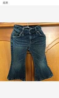 🚚 二手EDWIN女童牛仔褲