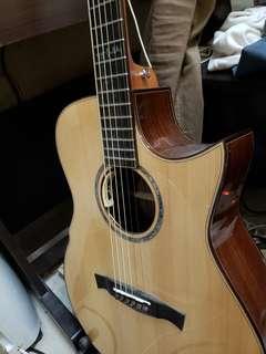 acoustic guitar maestro Victoria ir 新加坡手工結他,連原廠木盒,木材證書