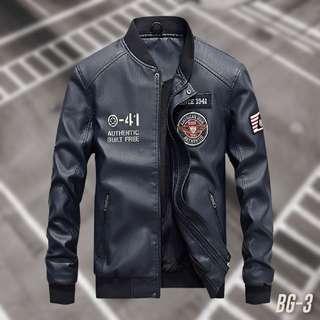 🚚 【預約試穿】美式Style 美軍飛行夾克 深藍 騎車外套 皮衣 機車外套 防風外套 棒球外套 飛行外套 軍外套(附發票)