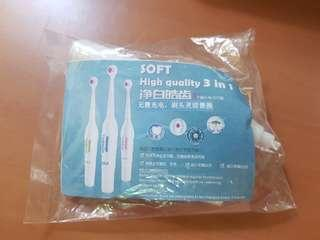 🚚 massage toothbrush 3 in 1