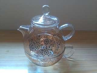 玻璃茶壺 glass teapot