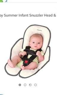 🚚 Snuzzler - head and body support for strollers and car seats