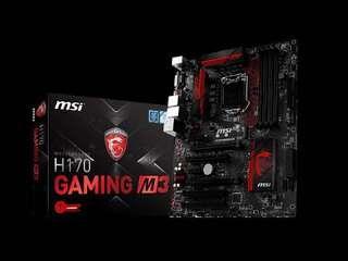 MSI M3 H170 Gaming motherboard