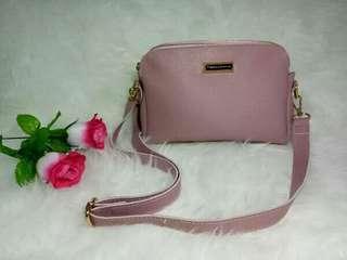 Tas wanita tas selempang tas pink