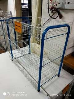 Small Wire Basket Rack