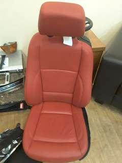 🚚 BMW E82 120i 2011 FRONT LEATHER SEATS RIGHT & LEFT