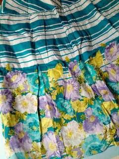 Skirt (Mid-length, High-waisted)