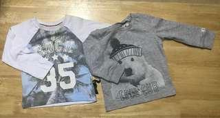 MOTHERCARE New Shirts 9-12months