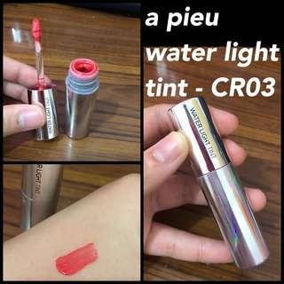 a pieu original water light tint (lip tint) lipstick, lip butter