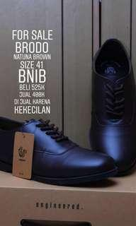 Shoes Man Brodo Natuna Brown