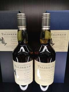 Talisker 25YO 2004 & 2005