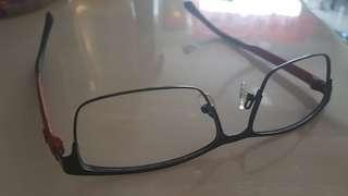 Braun Buffle Branded Spectacle Frame