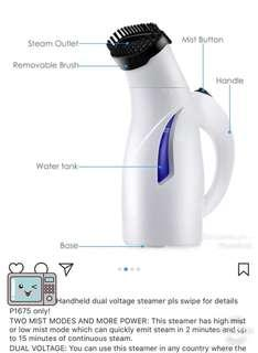 Handheld Steamer