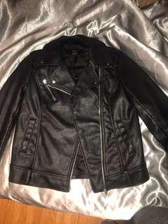 F21 Leather Jacket (s)