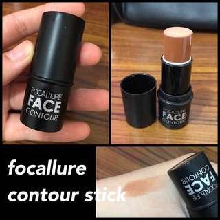 focallure face contour stick coffe chocolate