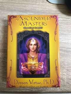 Ascended masters oracle tarot cards (out of print)