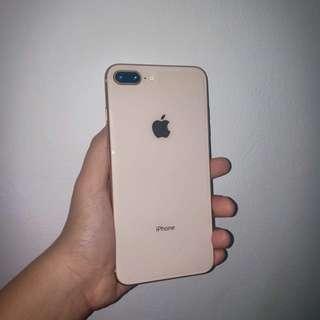 JUAL CEPAT!! iPhone 8 plus 64gb Ex IBOX GARANSI s/d Mei 2019