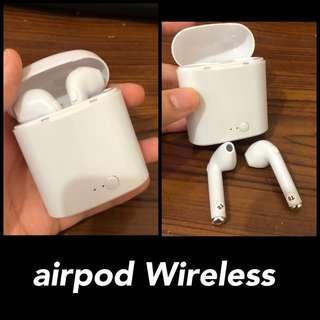 airpods wireless (bluetooth)
