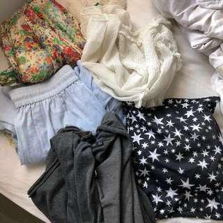BULK 8 new great cond Zara Seed dress skirt top cardigan bonds jeans XS Small 6 8 $300+ Bargain!