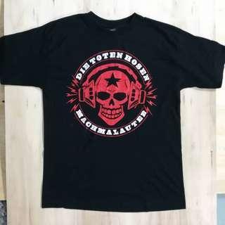 Die TOTEN hosen punk tour shirt 2009