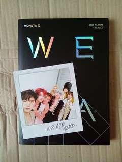UNSEALED MONSTA X WE ARE HERE VER 1