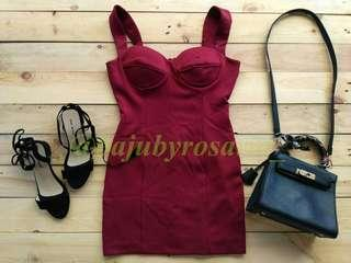 Bodycon cup dress