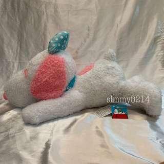 Snoopy Belle Huge 65cm Fluffy Plush Toy Japan Authentic [Toreba]