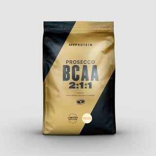 Pre workout Essential BCAA 250g Prosecco Myprotein