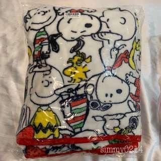 Japan Authentic Peanuts Snoopy Single Fleece Blanket [Toreba]