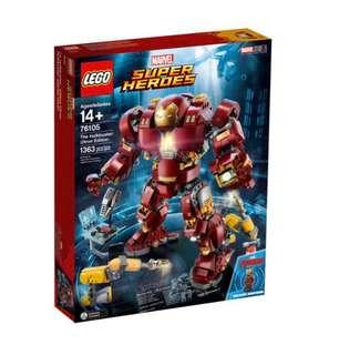 限時優惠 Marvel Super Heroes 76105 The Hulkbuster Ultron Edition