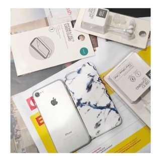 iPhone 6 Silver 16 GB + brand new accessories