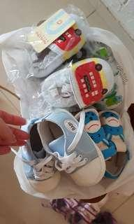4 for $10 Baby Shoes newborn infant