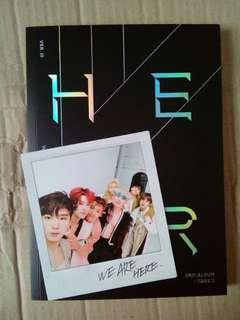 UNSEALED MONSTA X WE ARE HERE VER 3