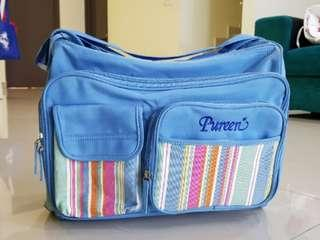 PUREEN baby bag (LOTS of compartments) #MHB75
