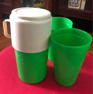 Vintage Milo Cups Set