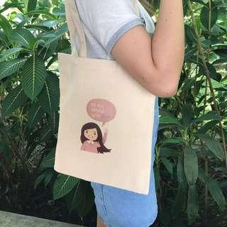 Positive Vibes Daily Tote Bag