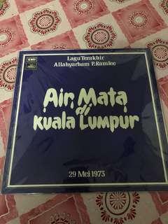 LP P.Ramlee - Ayer Mata Kuala Lumpur