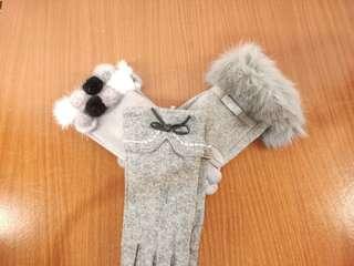 現貨 出清價 羊毛 羊绒手套 女生手套 觸屏手套 虧錢賣喔!