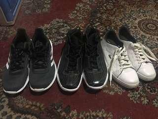 Sneakers, basketball shoes
