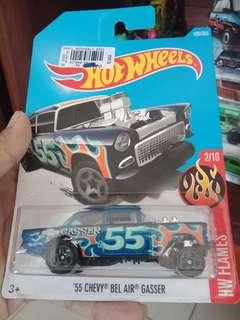 Hotwheels bel air gasser
