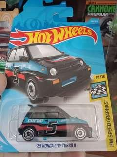Hotwheels 85 City Turbo