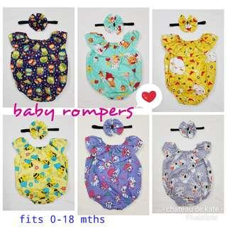 🚚 👶 baby rompers