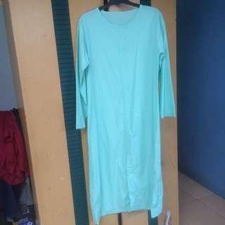 Semi Dress warna mint