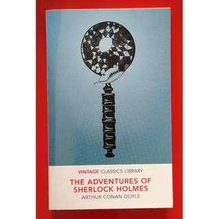 The Adventures of Sherlock Holmes Book - Arthur Conan Doyle