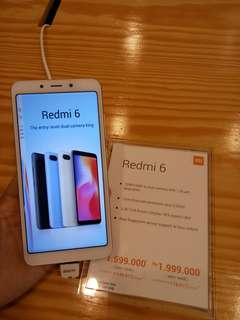 Xiomi Redmi 6 4/64GB Kredit Tanpa Kartu kredit