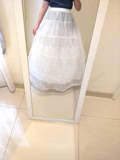 Petticoat Gaun, Kawat 3 Tingkat