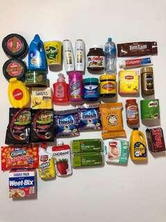 BUNDLE of 35 Coles Mini Collectables