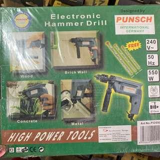 Electronic drill Germany