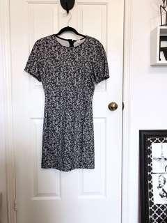 Aritzia Wilfred Lace Dress