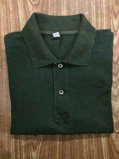Uniqlo Polo Shirt-green